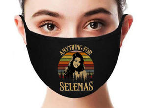 Selena Quintanilla Anything for Selenas Vintage Facemask