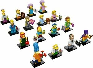 Lego 71009 Complete Set of 16 The Simpsons Series 2 NEW