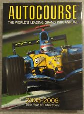 Autocourse 2005 2006 Grand Prix Annual Alan Henry Formula One Hardback Book NEW