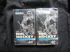 2 X 1991-92 PINNACLE HOCKEY PREMIER EDITION  BOXES. LOOK!