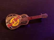 Tri-Plate Model 35 - 2Lc - (#8937) Hard Rock Cafe Pin St Thomas -Silver National