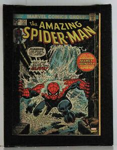 AMAZING SPIDER-MAN - ARTISSIMO MARVEL COMICS CANVAS ART - SIZE 6 1/2 X 8 1/2