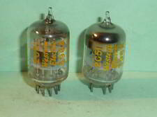 Western Electric 2C51 396A 5670 6n3p Tubes-Matched Pair-Test NOS, Matched Codes