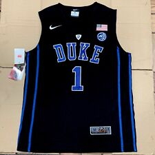 069d14438ba Zion Williamson Elite Duke Black Devils Mens Basketball Stitched Jersey  M-3XL