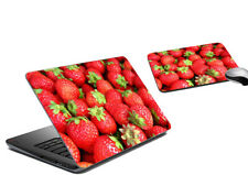 Strawberries Laptop Skin Mousepad Tattoo Universal Cover Notebook Sticker Decal