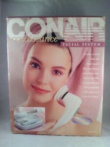 NEW Conair Renaissance Facial System Massagers AC Adapter Storage Case Model SM2
