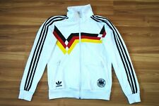 WOMENS 38 ADIDAS ORIGINALS 1990 GERMANY WORLD CUP RETRO JACKET TRACKTOP FOOTBALL