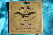Aquila 10U Nylgut Tenor Ukulele String Set, Regular Set with High G String
