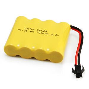 Rechargeable 700/1400mAh Battery Pack RC Ni-Cd Tamiya Plug 4.8V~ 9.6V AA Toy Car