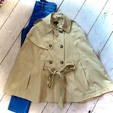 Retro Topshop Trench Cape Size 10 BNWOT