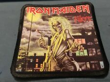 "Iron Maiden Killers Sublimated Patch 3""x3"" Album Cover Rock Metal Music"