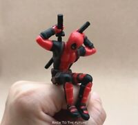 X-Men Deadpool 2 Action Figure Sitting Posture Model Anime Mini Doll Decoration