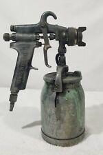 Binks Model 7 Spray Gun Amp Canister Untested