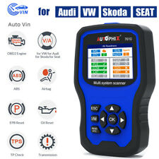 For VW AUDI VAG OBD2 Diagnostic Tool Auto Scanner ABS SRS EPB SAS Autophix 7610