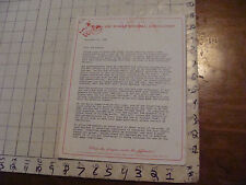 VINTAGE hacky sack paper: 1986--3 PAGES from THE WORLD FOOTBAG ASSOCIATION,