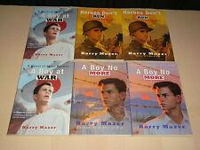 A Boy At War A Boy No More & Heroes Don't Run Lit Circle History Teacher Class