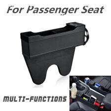 Black Leather Car Seat Mount Organizer Right Storage Catch Box Catcher Pouch Bag