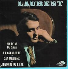 """LAURENT   """" MA REINE DE SABA """"   ( EP 45 tours)"""