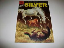 July-Sept 1956 Dell The Long Ranger's Famous Horse Hi-Yo Silver Comic Book