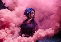 4 Pack Pink Smoke Grenade Gender Reveal Photography Airsoft Film 90 seconds each