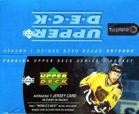 2004-05 Upper Deck Series 1 Hockey Retail 24ct Box