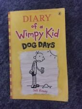 DIARY OF A WIMPY KID #4 DOG DAYS - Jeff Kinney - Children's/Teens Fiction Book