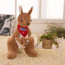 LPG 20cm Adorable Kangaroo Collection Plush Stuffed Animal Kids Toys Dolls  Red