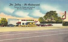 THE TALLEY-HO RESTAURANT Roadside Drive-In Chattanooga, TN Linen Postcard c1940s