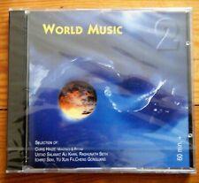 WORLD MUSIC 2 CHRIS HINZE FLÛTE RAGHUNATH SETH CD KEYTONE KYT 787 NEUF EMBALLÉ