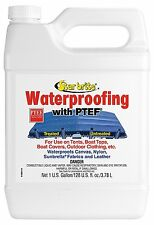 Fabric Waterproofing Protectant w/PTEF Marine Boat Cover Bimini Canvas Tent 1Gal
