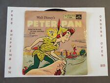 "10"" 78 RPM WALT DISNEY'S PETER PAN ORIGINAL RCA VICTOR Y-486"