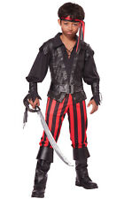 Brand New Briny Buccaneer Pirate Boy Swashbuckler Child Costume