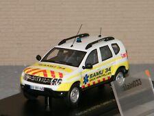 Dacia Duster Samu 34 Alarme 1/43 Ref. 0012