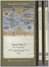 World War I : The Great War, Parts 1-3 GREAT COURSES complete set 6 DVDs