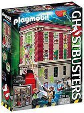 Playmobil Ghostbusters 9219. Siège social parc de pompier .pour partir de 6 ans