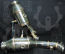 New!-Logos Engineering:High Flow 200 Cell-catted Downpipe Mercedes C43 (20+Hp)