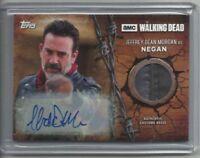 "2017 Walking Dead Season 7 NEGAN ""Autograph & Relic"" VARIANT Card #R-NE (09/10)"