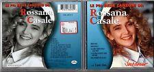 ROSSANA CASALE CD fuori catalogo LE PIU BELLE CANZONI DI 1998+ serie SUCCESSO