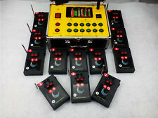 24CH fireworks firing system electric ignite Battery switch wirless remote Stage