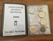 Colección de Monedas Españolas 2000 en Estuche SC (Incluye Moneda 2000 ptas.)