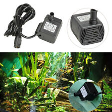 200L/H DC 12V 3W Submersible Water Pump  Fish Tank Fountain Aquarium Circulating