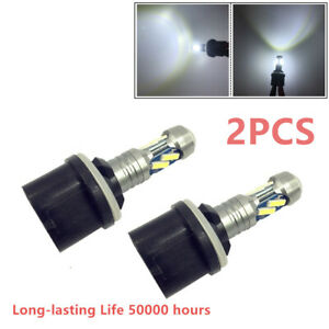 Car 2PCS Fog Light Headlight Bulbs High Power 880 890 892 893 899 White 8 LED