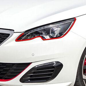 Devil Eye Headlight Film Stripe for Peugeot 208 Tuning Accessories