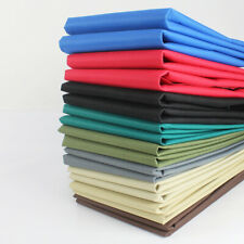 Canvas Waterproof Fabric Material Solid Color Home Decorative Fashion Bag Craft