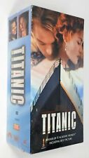 Titanic Movie VHS - 2 Video Cassette Tapes - 1997 - New