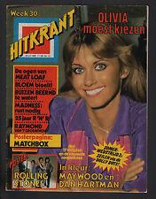 HITKRANT 30/1980 OLIVIA NEWTON JOHN MAYWOOD DAN HARTMAN MATCHBOX MEAT LOAF