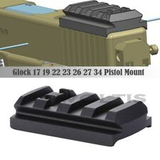 Micro Red Dot Sight Mount Plate for Glock 17 19 22 23 26 27 34