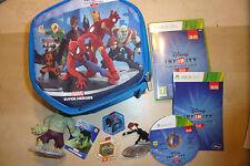 XBOX 360 Disney Infinity 2.0 gioco Marvel Black Widow & HULK figure + DISCO, Custodia