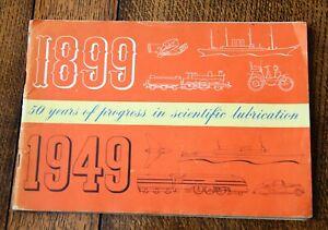 Wakefield Castrol Oil 50 Yrs of Progress Booklet 1949 Motoring Aviation History