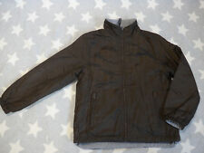 UCB United Colors of Benetton Jacke Wendejacke Gr M ca Gr 128 braun/grau